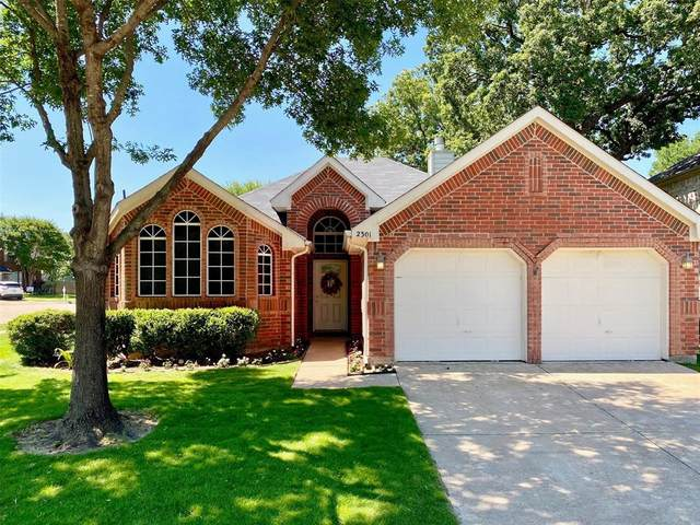 2301 Grandview Drive, Flower Mound, TX 75028 (MLS #14355735) :: Post Oak Realty