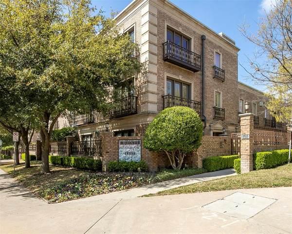 6625 Bandera Avenue 1D, Dallas, TX 75225 (MLS #14355873) :: The Good Home Team