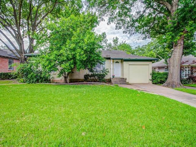 6168 Marquita Avenue, Dallas, TX 75214 (MLS #14356089) :: The Kimberly Davis Group