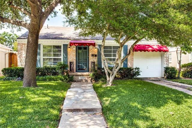 4659 Westside Drive, Highland Park, TX 75209 (MLS #14356329) :: RE/MAX Landmark