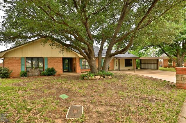 55 Carriage Road, Abilene, TX 79605 (MLS #14356405) :: The Kimberly Davis Group