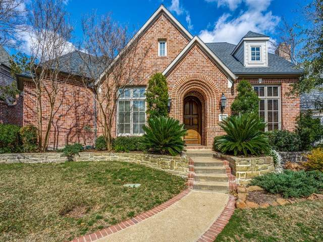 12107 Edgestone Road, Dallas, TX 75230 (MLS #14356565) :: The Kimberly Davis Group