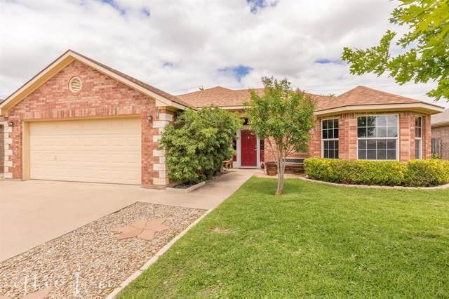 3109 Sutherland Street, Abilene, TX 79606 (MLS #14356654) :: Team Hodnett