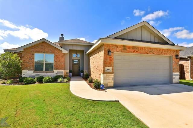 3209 Settlers Way, Abilene, TX 79601 (MLS #14356701) :: Team Hodnett