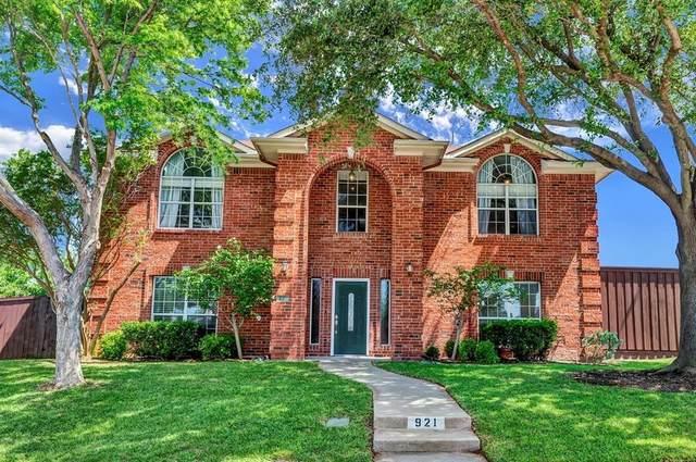 921 Carnegie Court, Allen, TX 75002 (MLS #14356831) :: Tenesha Lusk Realty Group