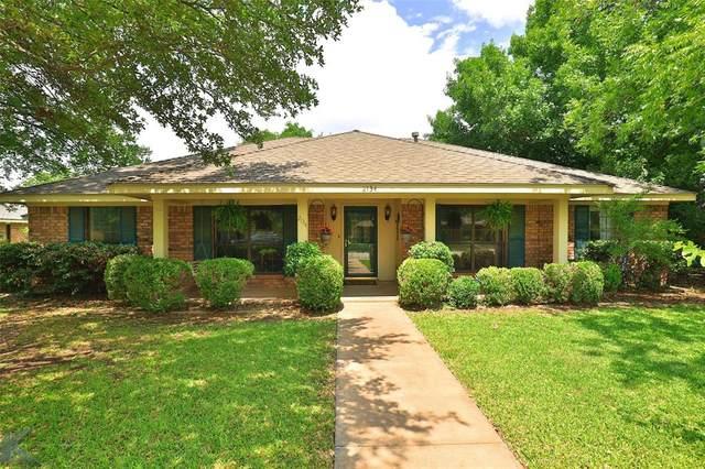 2134 Crestline Drive, Abilene, TX 79602 (MLS #14356862) :: All Cities USA Realty