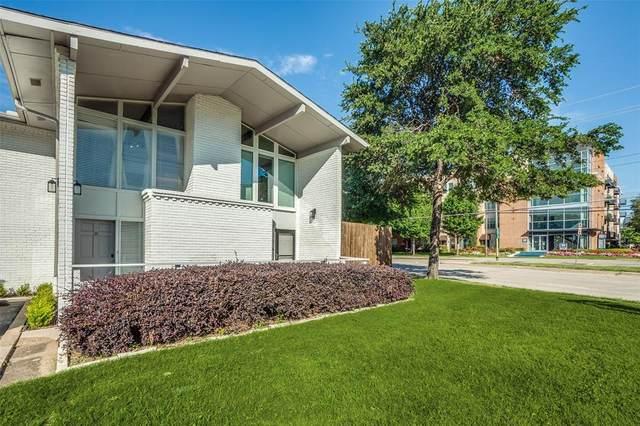 4347 Dickason Avenue #110, Dallas, TX 75219 (MLS #14356916) :: HergGroup Dallas-Fort Worth