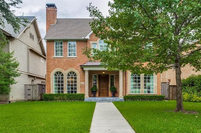 4519 Shenandoah Street, University Park, TX 75205 (MLS #14356983) :: Tenesha Lusk Realty Group