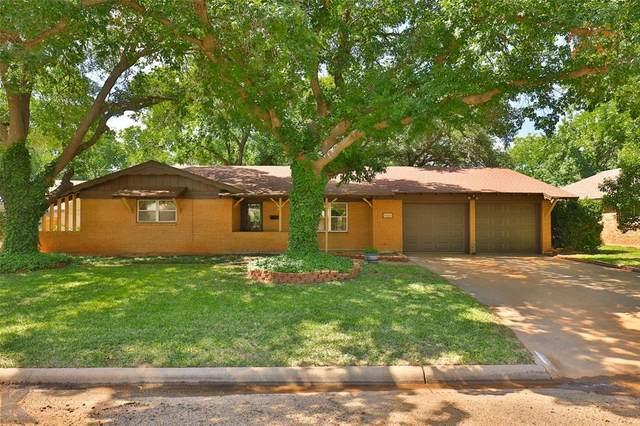 4061 Wilshire Drive, Abilene, TX 79603 (MLS #14357043) :: Team Hodnett