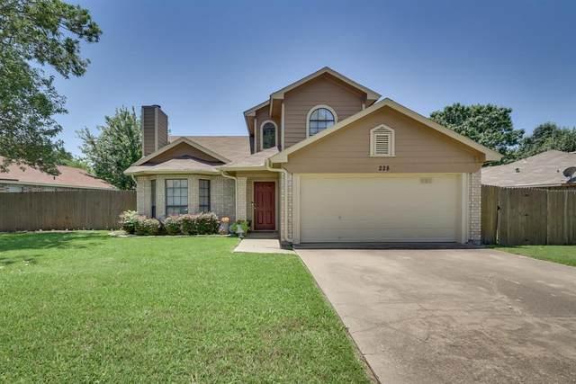 228 Rodeo Drive, Keller, TX 76248 (MLS #14357212) :: Tenesha Lusk Realty Group