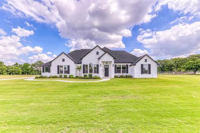 3700 Grindstone Road, Millsap, TX 76066 (MLS #14357256) :: Team Hodnett
