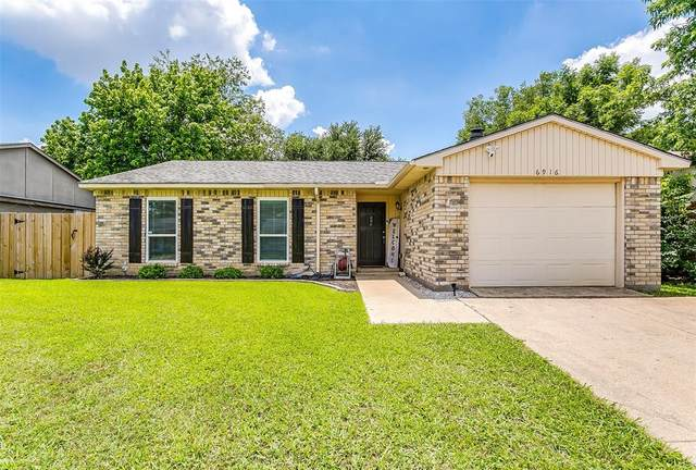 6916 Glendale Drive, North Richland Hills, TX 76182 (MLS #14357282) :: Tenesha Lusk Realty Group