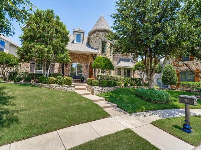 1204 Silentbrook, Frisco, TX 75036 (MLS #14357524) :: The Good Home Team