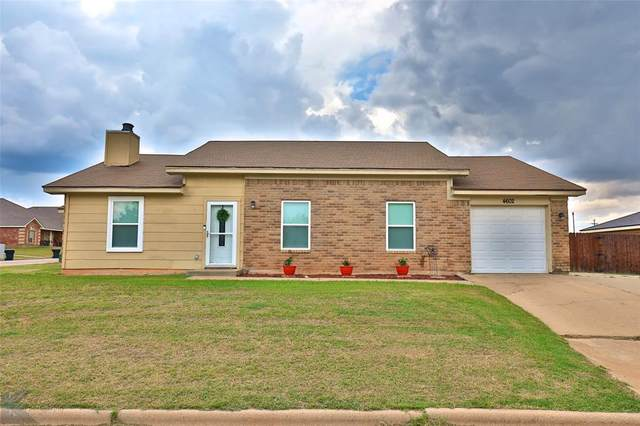 4602 Marlboro Drive, Abilene, TX 79606 (MLS #14357720) :: The Kimberly Davis Group