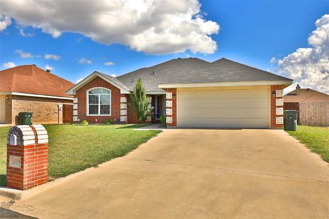 809 Shallow Water Trail, Abilene, TX 79602 (MLS #14357727) :: The Kimberly Davis Group
