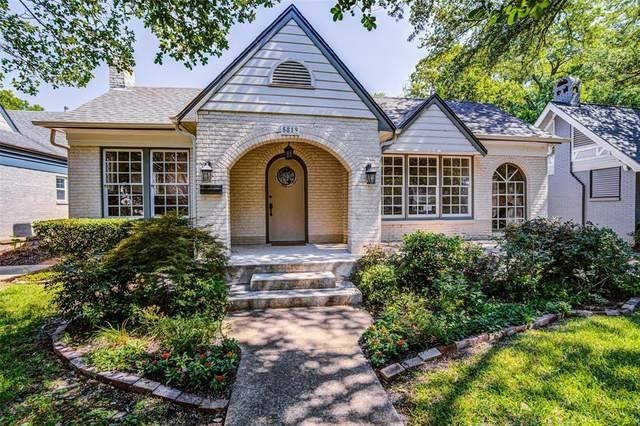 5819 Monticello Avenue, Dallas, TX 75206 (MLS #14358032) :: The Kimberly Davis Group