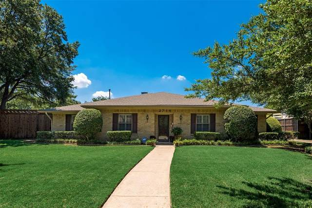 2714 Carriage Lane, Carrollton, TX 75006 (MLS #14358261) :: The Good Home Team