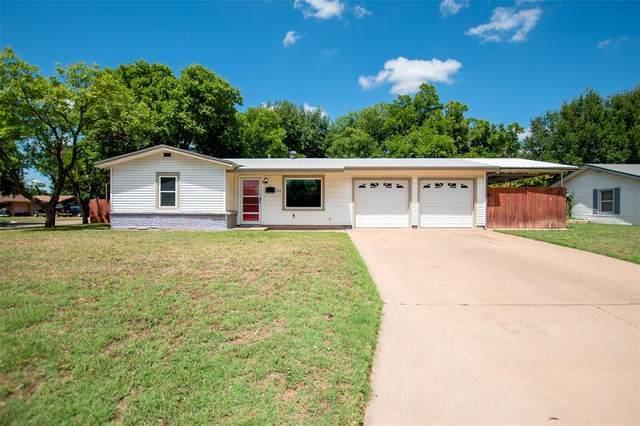 1108 Bel Air Drive, Abilene, TX 79603 (MLS #14358354) :: Team Hodnett
