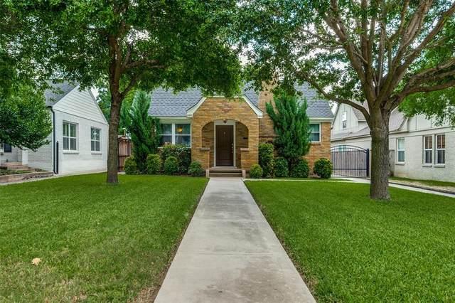 2309 Ashland Avenue, Fort Worth, TX 76107 (MLS #14358757) :: Tenesha Lusk Realty Group