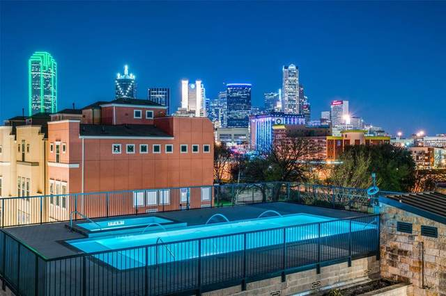 1001 Belleview Street #306, Dallas, TX 75215 (MLS #14358856) :: Front Real Estate Co.