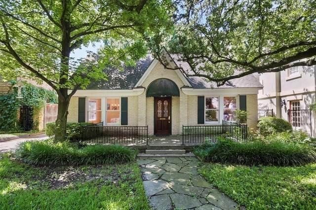 3721 Normandy Avenue, Highland Park, TX 75205 (MLS #14358859) :: HergGroup Dallas-Fort Worth