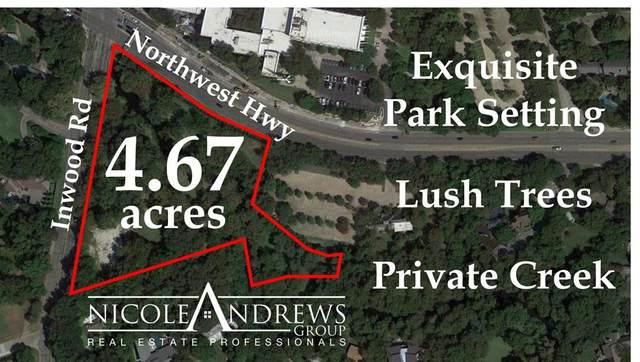 9122 Inwood Road, Dallas, TX 75209 (MLS #14358997) :: Real Estate By Design