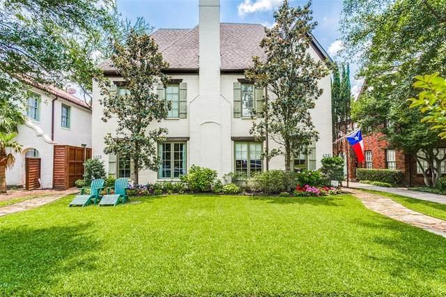 4335 Normandy Avenue, University Park, TX 75205 (MLS #14359305) :: HergGroup Dallas-Fort Worth