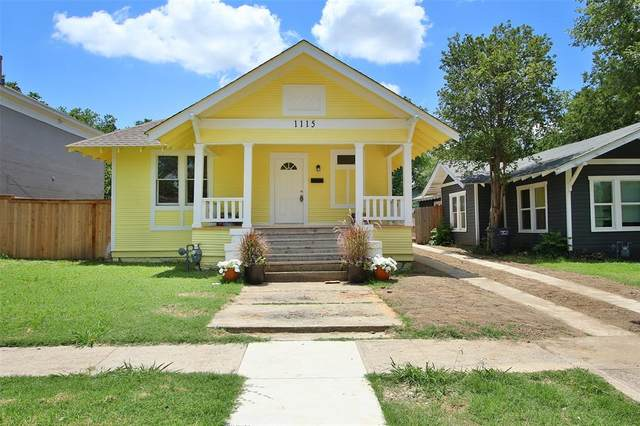 1115 Hawthorne Avenue, Fort Worth, TX 76110 (MLS #14359349) :: The Star Team   JP & Associates Realtors