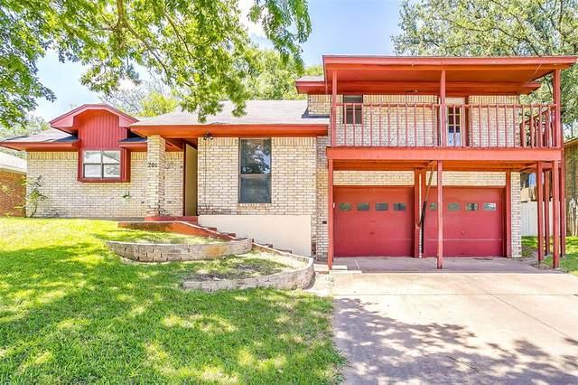 201 Oakridge Drive, Weatherford, TX 76086 (MLS #14359538) :: Team Hodnett