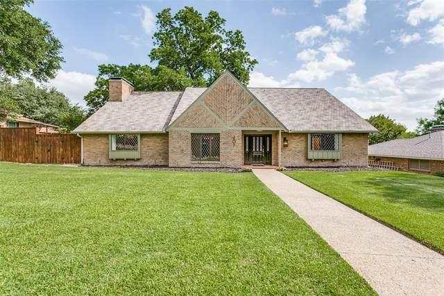 207 Meadowdale Drive, Rockwall, TX 75087 (MLS #14360085) :: Baldree Home Team