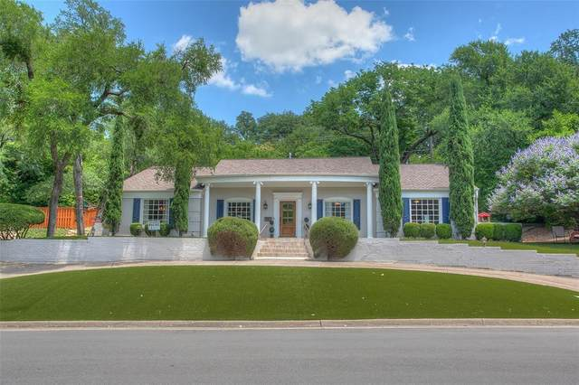 3501 Overton Park Drive E, Fort Worth, TX 76109 (MLS #14361235) :: RE/MAX Landmark
