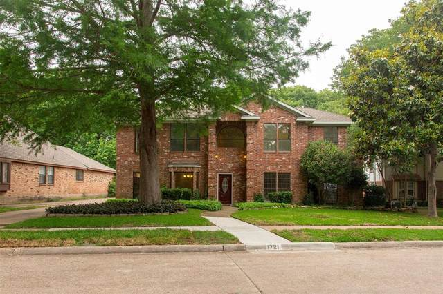 1721 Timberway Drive, Richardson, TX 75082 (MLS #14363772) :: Real Estate By Design