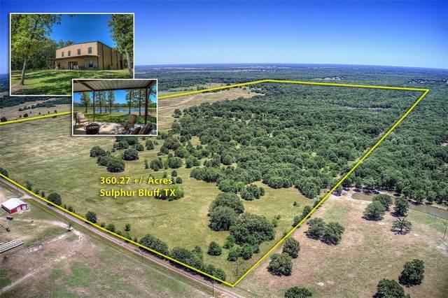 2300 County Road 3546, Sulphur Bluff, TX 75481 (MLS #14364897) :: Justin Bassett Realty