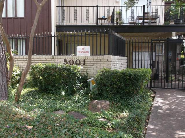 5001 Bowser Avenue #106, Dallas, TX 75209 (MLS #14365229) :: Front Real Estate Co.
