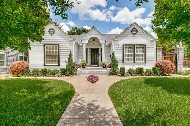 5743 Kenwood Avenue, Dallas, TX 75206 (MLS #14365488) :: Team Hodnett