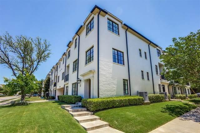 3449 Milton Avenue #4, University Park, TX 75205 (MLS #14365860) :: Front Real Estate Co.