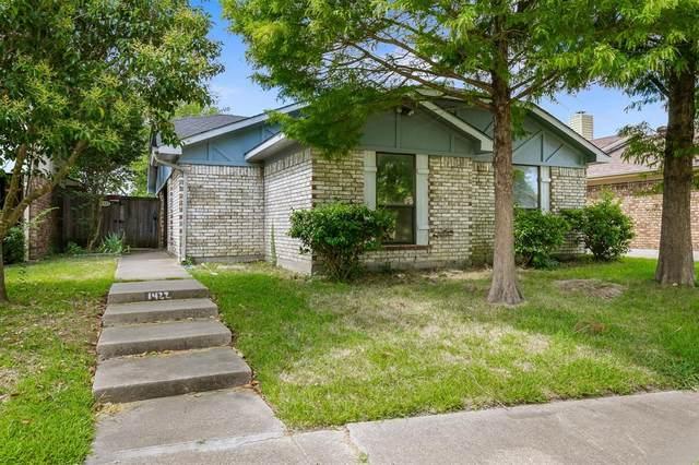 1422 Smokehouse Street, Mesquite, TX 75149 (MLS #14365899) :: Trinity Premier Properties