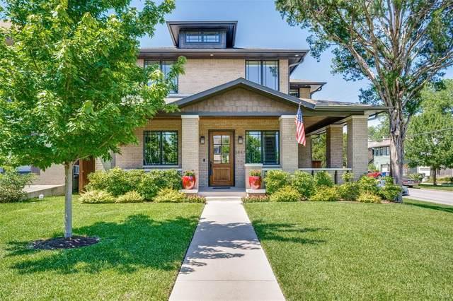 5847 Palo Pinto Avenue, Dallas, TX 75206 (MLS #14365929) :: Baldree Home Team