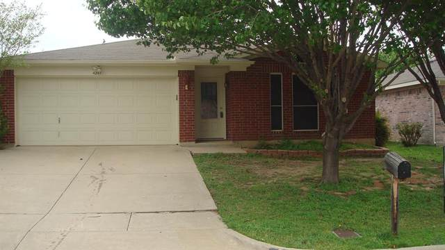 4241 Iris Avenue, Fort Worth, TX 76137 (MLS #14366621) :: The Welch Team