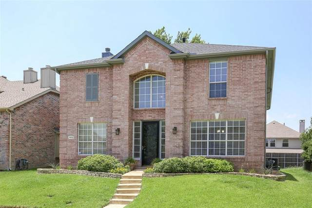 1802 Crosshaven Drive, Lewisville, TX 75077 (MLS #14366971) :: Baldree Home Team