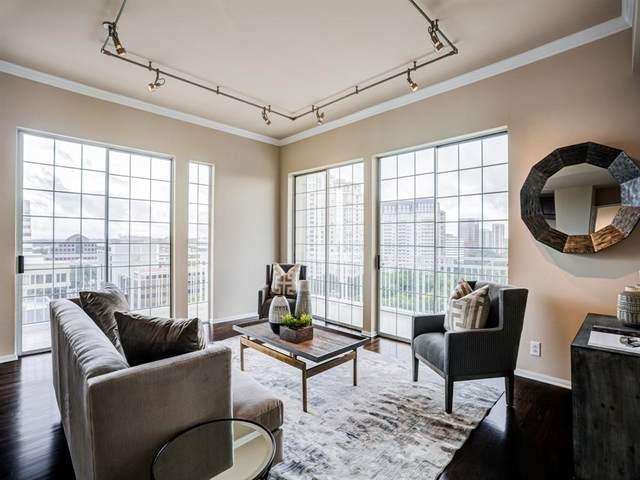 3225 Turtle Creek Boulevard #1248, Dallas, TX 75219 (MLS #14367194) :: Front Real Estate Co.