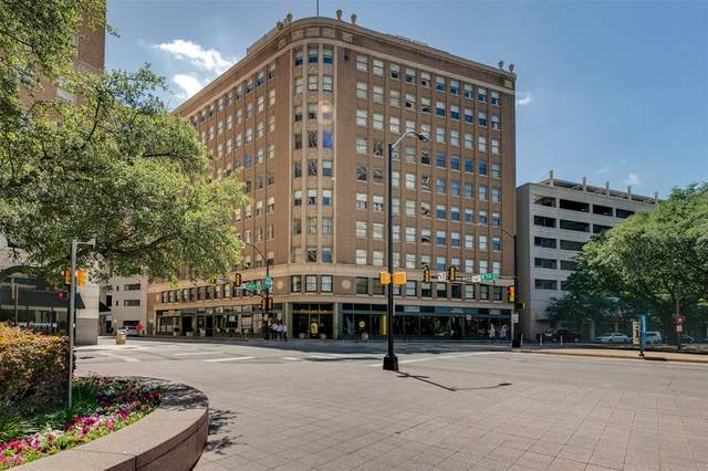 411 W 7th Street #802, Fort Worth, TX 76102 (MLS #14368497) :: The Mitchell Group