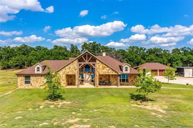2718 Cabaniss Lane, Weatherford, TX 76088 (MLS #14368656) :: Team Hodnett