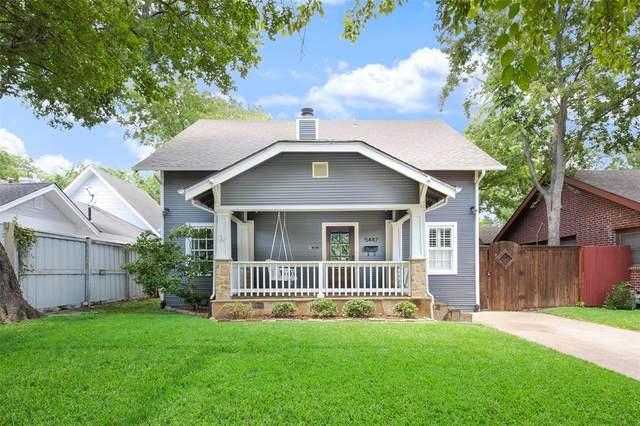 5447 Bonita Avenue, Dallas, TX 75206 (MLS #14369552) :: Robbins Real Estate Group