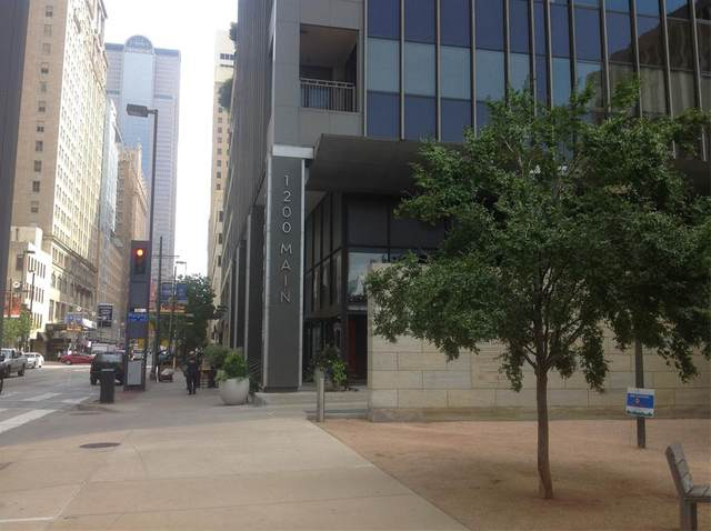 1200 Main Street #1009, Dallas, TX 75202 (MLS #14369721) :: Justin Bassett Realty