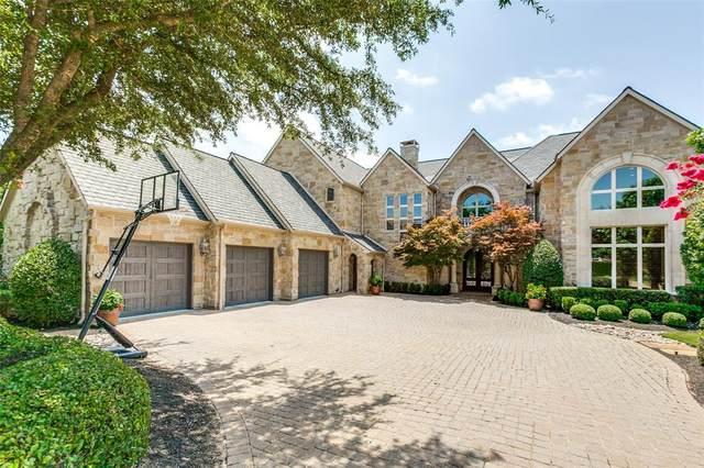 6800 Rainwood Drive, Plano, TX 75024 (MLS #14369844) :: The Kimberly Davis Group