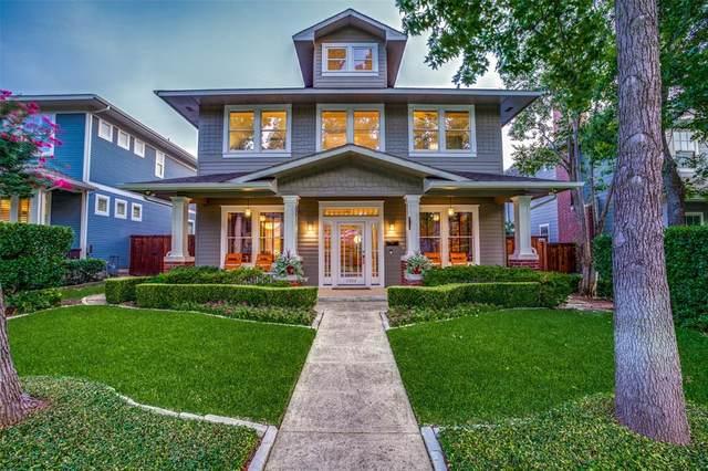 5306 Miller Avenue, Dallas, TX 75206 (MLS #14370700) :: Robbins Real Estate Group