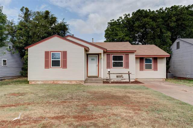 1310 Shelton Street, Abilene, TX 79603 (MLS #14371066) :: The Chad Smith Team