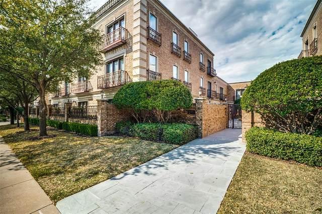 6615 Bandera Avenue 1B, Dallas, TX 75225 (MLS #14371275) :: Century 21 Judge Fite Company
