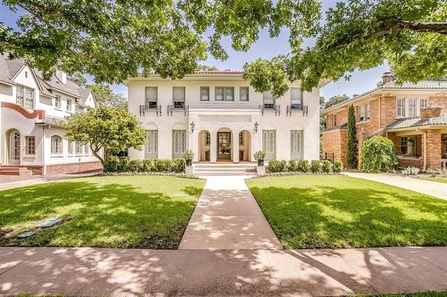 2012 Pembroke Drive, Fort Worth, TX 76110 (MLS #14371316) :: The Hornburg Real Estate Group